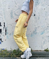 Aschrank Original Track Pants(Creamy Yellow)