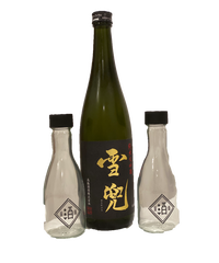 【第3弾に合わせて!】雪兜720ml+酒蔵印1合瓶4本セット