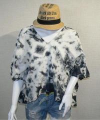 タイダイ染 カバートップス Tシャツ デコルテ魅せちゃえ!002