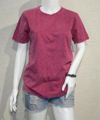 4004original brand スタンダード ストーンウォッシュ加工 UネックTシャツ