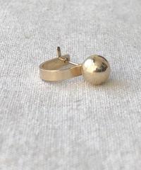 cinq / Miqa ear anchor  / 14 K   gold filed / single earring