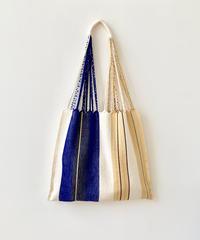 pips / cotton handwoven hammock bag / natural asymmetry