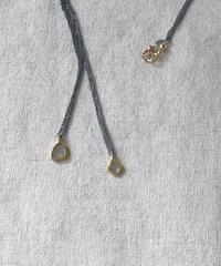ishi  jewelry / slice diamond long necklace