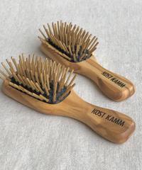 kostkamm / olive wood   hair Brushes / 11.5cm /  4599