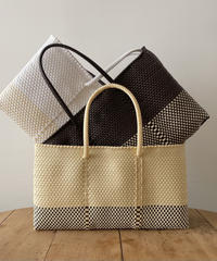 Cilantron / nylon mercado bag  /  wide _ m size