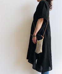pips agave market bag / mini size /  natural / brown