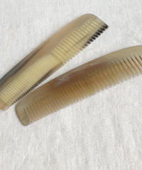 Kostkamm / Horn hairdressing  comb / 19cm /wide -narrow / 20H