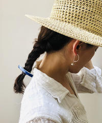 juju made / English porcelain hair clip  / ジュジュメイド / ヘアークリップ/ 陶磁器