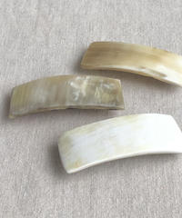 kostkamm / horn hair clip  / 6cm / 9534