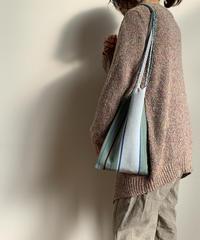 pips / cotton hand woven mini  hammock bag   / Green