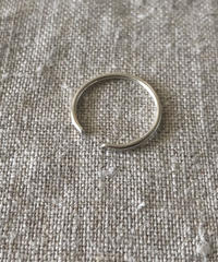cinq / clean ring / silver