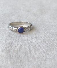 Ishi jewelry / cobra  ring / lapis lazuli