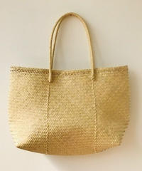 pips / palm leaf basket tote  bag
