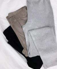 at home collection : PILE RELAX LEGGINGS