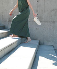 [21SS] ORGANIC COTTON WIDE ARM ONE-PIECE