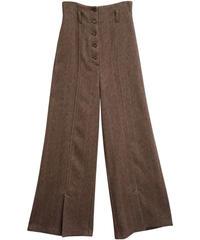 [19AW] HERRINGBONE HIGH WAIST PANTS