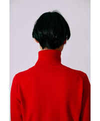 [21AW]TURTLENECK KNIT PULLOVER