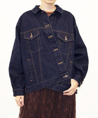 [20AW] BIG SILHOUETTE 2WAY DENIM JACKET