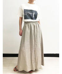 [21SS] LINEN 2WAY GATHERED SKIRT