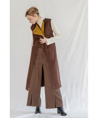 RE ARRIVAL [19AW] BI-COLOR TRENCH GILET