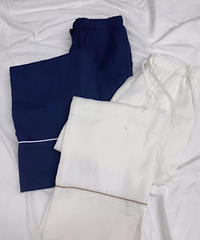 at home collection : FRENCH LINEN RELAX PANTS
