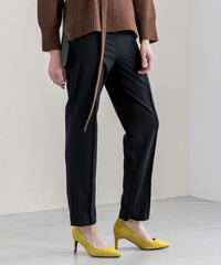[19AW] HIGH WAIST TAPERED PANTS
