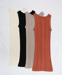 at home collection : SILK SEAMLESS TANK TOP