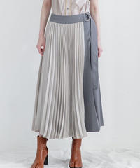[19AW] WRAP PLEAT SKIRT