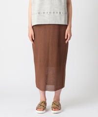 [19SS] WASHI MIX KNIT SKIRT