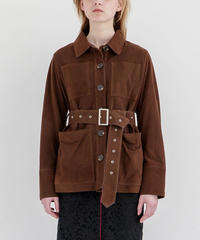 [19AW] SUEDE LEATHER SHIRT BLOUSON