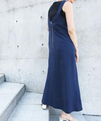 [21SS] LINEN BUSTIER DRESS
