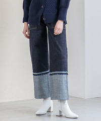 [19AW] STRAIGHT DENIM PANTS