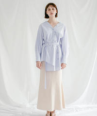 [21SS] LINEN COTTON TRUMPET SKIRT