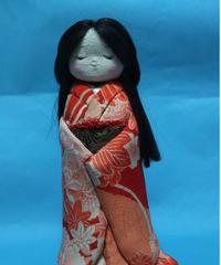 おしとやかな かえでちゃん 古布縮緬細工 人形