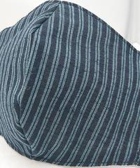 遠州織物ガーゼマスク(縞0046)