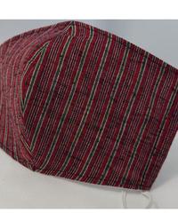 遠州織物ガーゼマスク(縞0112)