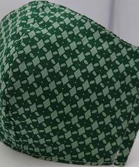 菱形ガーゼマスク(緑)