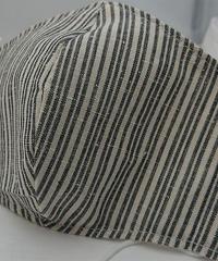 遠州織物ガーゼマスク(縞0148)