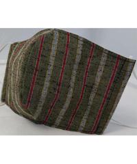 遠州織物ガーゼマスク(縞0037)