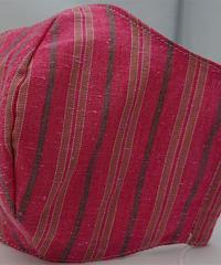 遠州織物ガーゼマスク(縞0143)