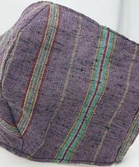 遠州織物ガーゼマスク(縞0086)