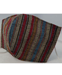 遠州織物ガーゼマスク(縞0077)
