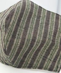 遠州織物ガーゼマスク(縞0048)