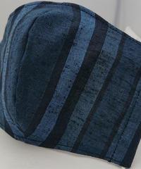 遠州織物ガーゼマスク(縞0101)