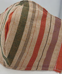 遠州織物ガーゼマスク(縞0049)