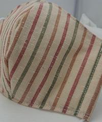 遠州織物ガーゼマスク(縞0127)