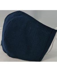 遠州織物ガーゼマスク(濃紺)