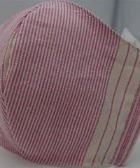 !!new!! 遠州織物ガーゼマスク(縞0132)  <<子供用>>