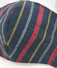 遠州織物ガーゼマスク(縞0092)