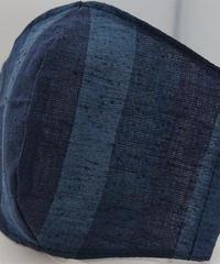 遠州織物ガーゼマスク(縞0102)